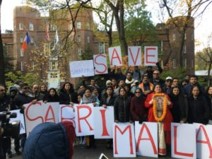 Hindu Americans Hold 'Save Sabarimala Rally', Lash out At Missionary -Communist Nexus