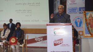 भारत का समाज नैतिक मूल्यों पर चलने वाला है – सुरेश भय्याजी जोशी