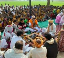 अयोध्या में मंदिर निर्माण हेतु विहिप का नव दिवसीय संकल्प अनुष्ठान प्रारम्भ