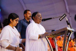 Translation of Amma's Malayalam speech at Ayyappa Bhakt Sangamam