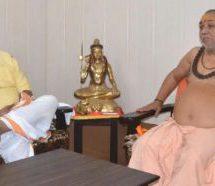 राष्ट्र भक्तों की सरकार ही राम मंदिर का निर्माण करेगी – भय्याजी जोशी