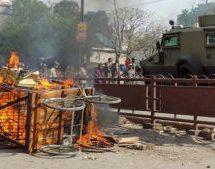 रामनवमी पर शोभायात्रा से लौट रहे भक्तों पर पत्थरबाजी, वाहन फूंके