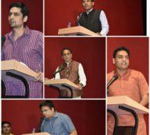 ऋतम् (Ritam) वचौथा खम्भा न्यूज़ ने आयोजित किया सोशल मीडिया कॉन्क्लेव
