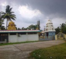 Christian Prayer Meetings held next to a Hindu Endowment Temple in Andhra Pradesh