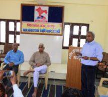 समाज व राष्ट्र हित की पत्रकारिता युगधर्म – रमेश शुक्ला
