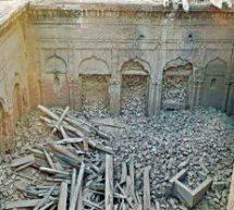 पाकिस्तान में ढहाया ऐतिहासिक गुरू नानक महल