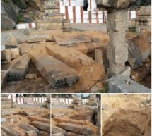 Shocking! 500 year old Brundavana of Sri Vyasatirtha in Hampi completely destroyed by miscreants