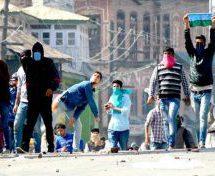 जम्मू कश्मीर में कम हुईं पत्थरबाजी की घटनाएं