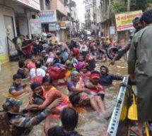 भारी वर्षा के कारण पश्चिम महाराष्ट्र 'बेहाल'