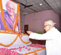 विपरीत परिस्थितियों में ओमप्रकाश जी ने किया असाधारण काम – डॉ. कृष्ण गोपाल जी
