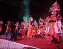 Fabulous Yakshagana performance by children of Nele Nivedita