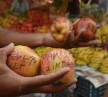 Anti India slogans on apples, fruit sellers threaten boycott