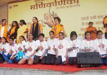 2000 girls participated in Manikarnika marathon