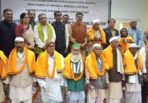 1922 Chauri Chaura incident – Families of martyrs felicitated for the 1st time after independence