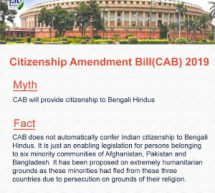 Central government puts out #MythBusters over CAB
