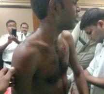 कोलकत्ता में स्वयंसेवक पर हमले के विरोध में रोष प्रदर्शन से पुलिस ने रोका