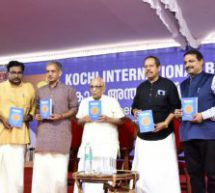 Ranga Hari Ji releases 'Hindutva for the Changing Times' book at Kochi International Book Festival