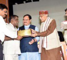 Sewa Bharati bags Mangalam Swaminathan Award