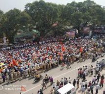 Kanakapura Chalo rally was organised by Hindu Jagaran Vedike