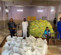 सेवा भारती संकटमोचन दल जम्मू कश्मीर ने बांटी राहत सामग्री
