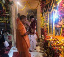 चैत्र नवरात्र के प्रथम दिन ब्रह्ममुहुर्त में नए आसन पर विराजमान हुए रामलला