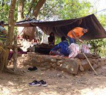 चित्रकूट – दूरदराज जंगलों में साधनारत साधु-संतों को डीआरआई ने भेजी राशन सामग्री