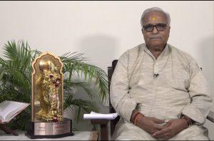 Mananiya Sarkaryavah Bhaiyya ji Joshi's message on Ramnavami