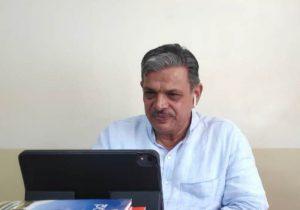 RSS Sahsarkaryavah Dattatreya Hosabale Interacted with Foreign Media