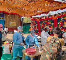 इंदौर सेवा भारती का बंधु भोजनम….