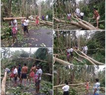 #CycloneAmphan – Selfless service of RSS volunteers in West Bengal