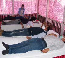 डॉ. हेडगेवार स्मारक समिति ने रक्तदान शिविर का आयोजन किया