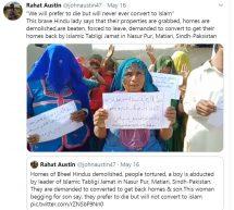पाकिस्तान में हिन्दुओं का जबरन धर्मान्तरण करवा रही तबलीगी जमात