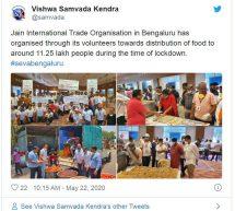 #Seva4Society – Seva activities in the society during covid19 lockdown