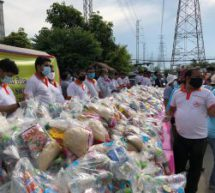 SEWADAY in Thailand – HSS distributes Family care kit to 2000 Thai families