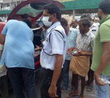 Gas Leak Incident – Service activities by Swayamsevaks in Visakha.