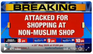 Karnataka – Gang of Muslim youth harass Muslim woman for buying from Hindu shops in Karnataka
