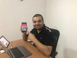चीनी एप्प हटाएगा, भारतीय विकल्प सुझाएगा – विदिशा के युवा ने तैयार किया एप्प