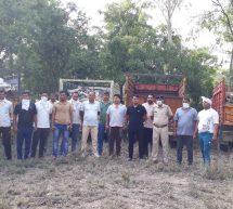 गौ तस्करी – पुन्हाना पुलिस ने गांव जमालगढ़ से बरामद की 2572 गाय की खालें