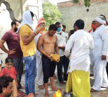 पानीपत जिले के आसन गांव में 4 मुस्लिम परिवारों ने की घर वापसी