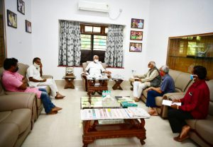 Memorandum submitted to Karnataka CM BS Yedyurapp