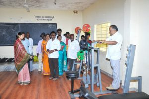 Bengaluru – A Govt school of Hosa Yalanadu village developing at par with its city counterparts