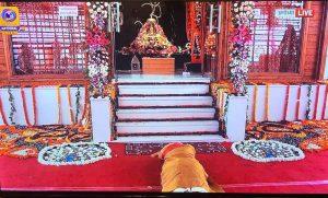 मंदिर हमारी राष्ट्रीय भावना और करोड़ों लोगों की सामूहिक संकल्प शक्ति का प्रतीक बनेगा