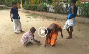 Devvani – Sanskrit speaking students while playing marbles at Adichunchanagiri Mutt
