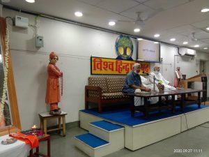 अशोक सिंहल श्रीराम जन्मभूमि मुक्ति आन्दोलन के प्राण थे – आलोक कुमार