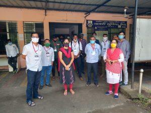 Nagpur – RSS Lokkalyan Samiti Swayamsevaks and NMC launch 'Mission Vishwas' to fight COVID-19