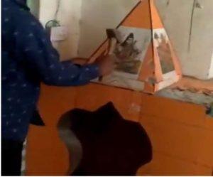 हिसार – शिव मंदिर तोड़े जाने का वीडियो देख भट्टूकलां, भट्टूमंडी के लोगों में रोष