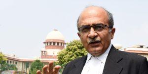 SC Contempt Case – Lawyer Prashant Bhushan pays Rs 1 fine