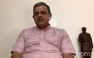 आत्मनिर्भर भारत, संगठित भारत, स्वावलंबी भारत बनाना है – दत्तात्रेय होसबले