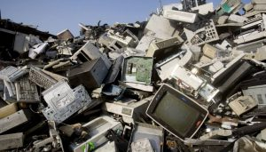 स्वच्छ भारत अभियान के अंतर्गत माई ग्रीन सोसायटी द्वारा ई-कचरा संकलन