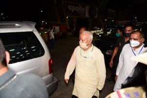 चार दिवसीय प्रवास पर सरसंघचालक जयपुर पहुंचे